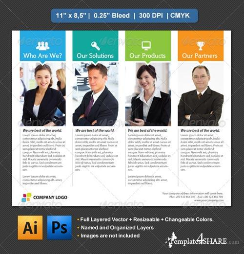 GraphicRiver Slice Flyer