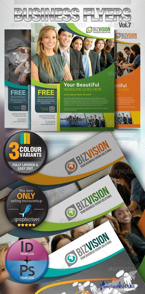 GraphicRiver Simple & Clean Corporate Flyer Vol.7