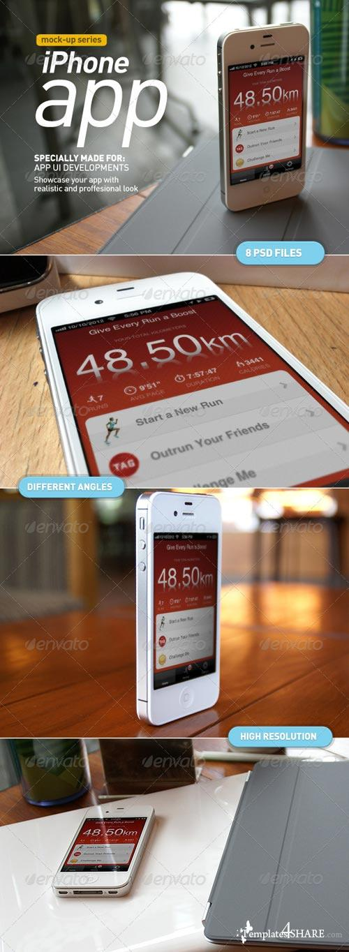 GraphicRiver Mobile App | Device Screen Mock-Up