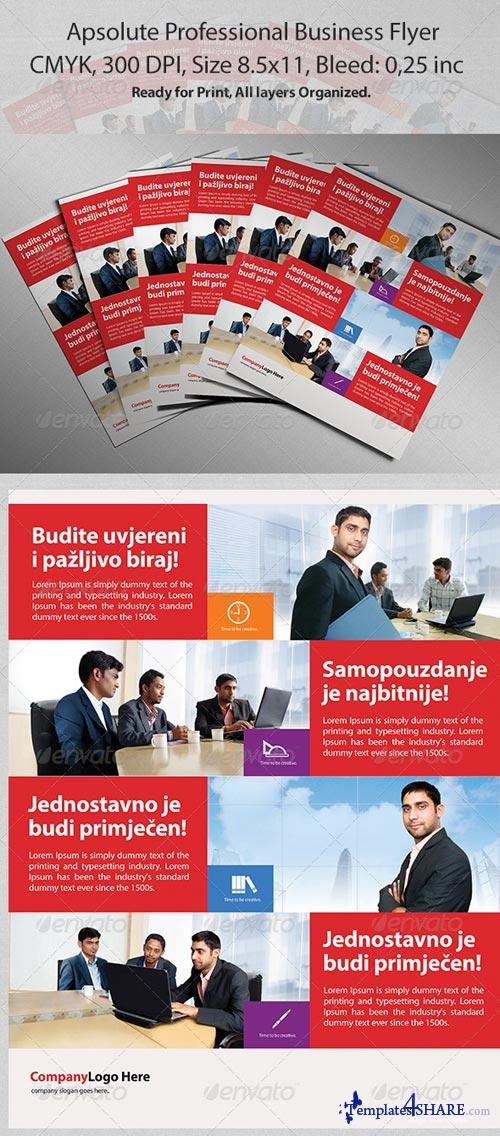 GraphicRiver Apsolute Professional Business Flyer