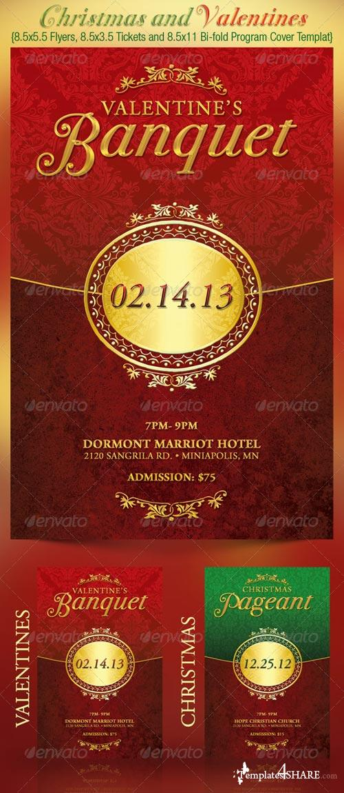 GraphicRiver Christmas and Valentines Event Templates