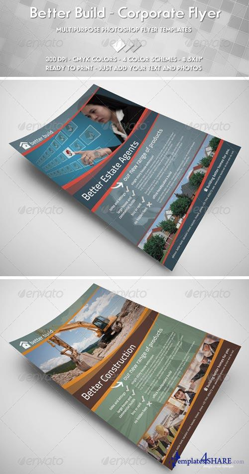 GraphicRiver Better Build Flyer