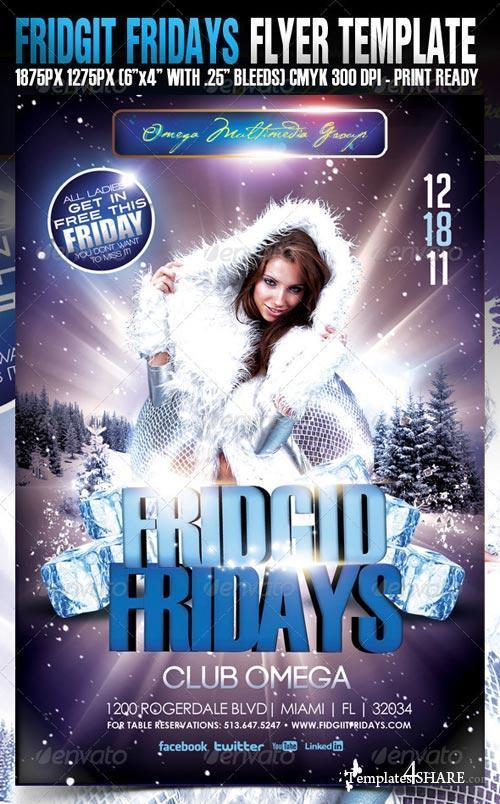 GraphicRiver Fridget Fridays