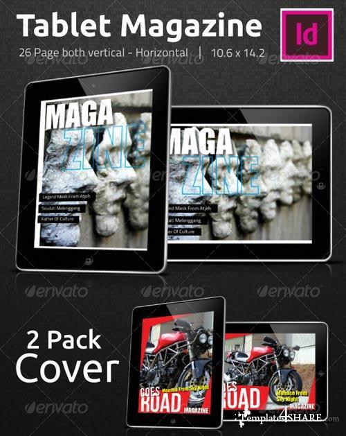 GraphicRiver Tablet Magazine Pro E2