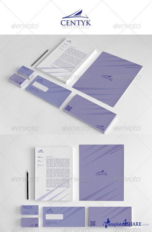 GraphicRiver Corporate Startioney Centyk