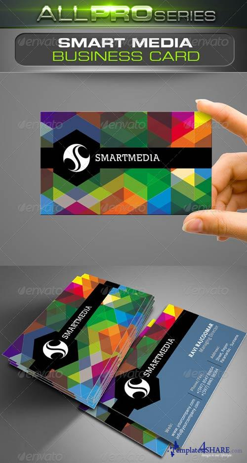 GraphicRiver Smart Media Business Card