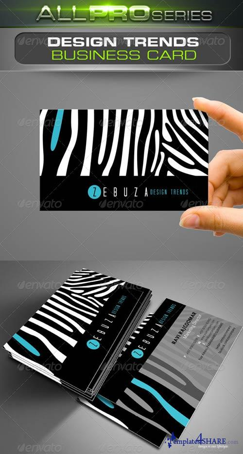 GraphicRiver Design Trends Business Card