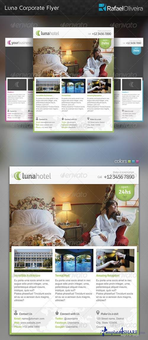 GraphicRiver Luna Corporate Flyer