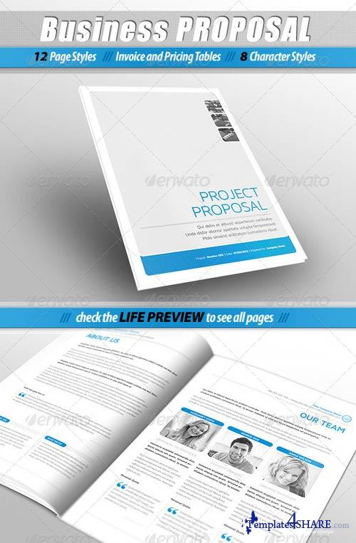 GraphicRiver Business PROPOSAL