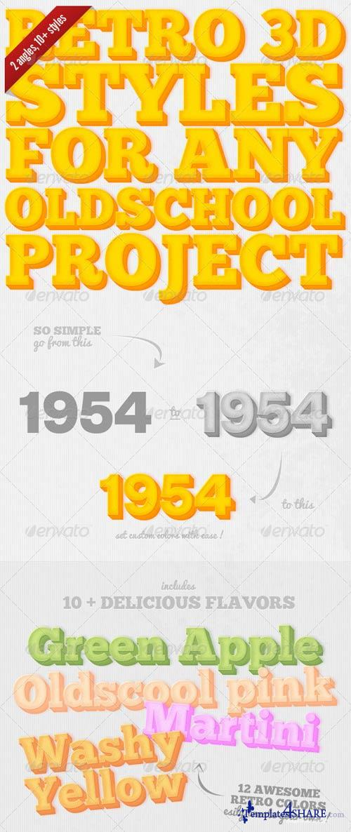 GraphicRiver Retro Actions