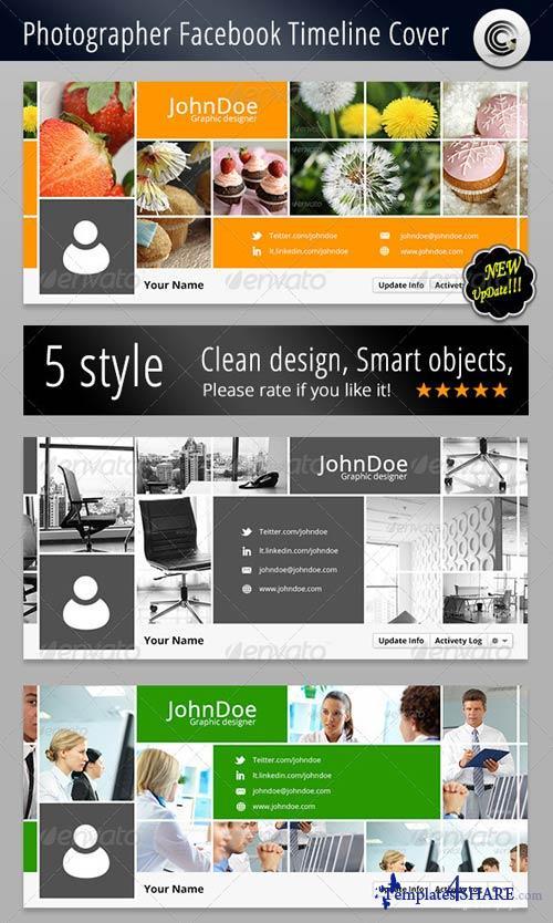 GraphicRiver Photographer FB Timeline Cover