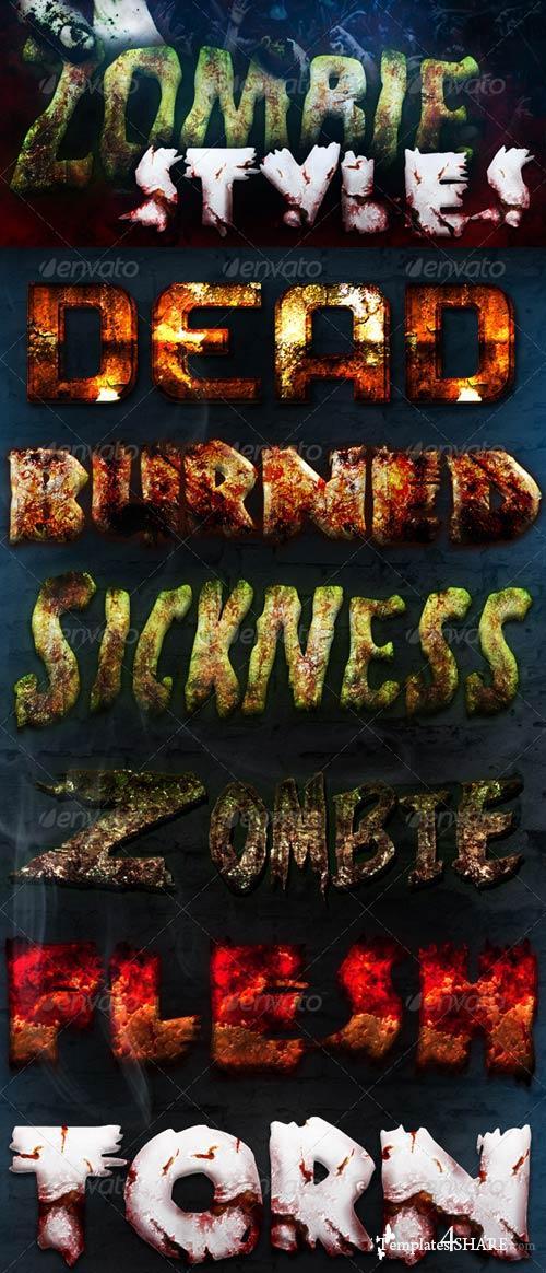 GraphicRiver Zombie Styles