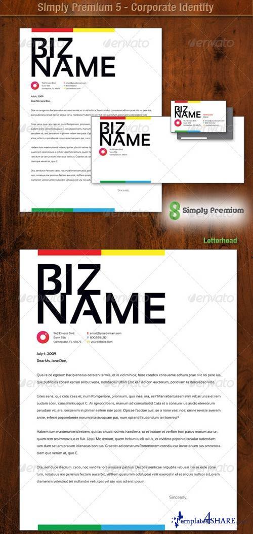 GraphicRiver Simply Premium 5 - Corporate Identity