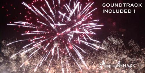 Spectacular Fireworks With Music - Motion Graphics (VideoHive)