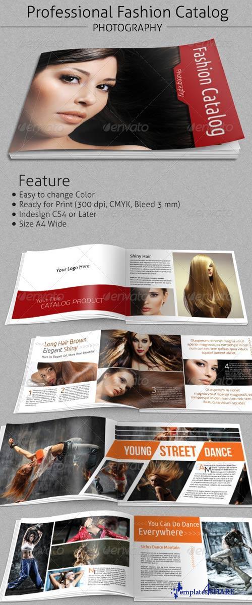 GraphicRiver Fashion Catalogs Brochure A4 Wide
