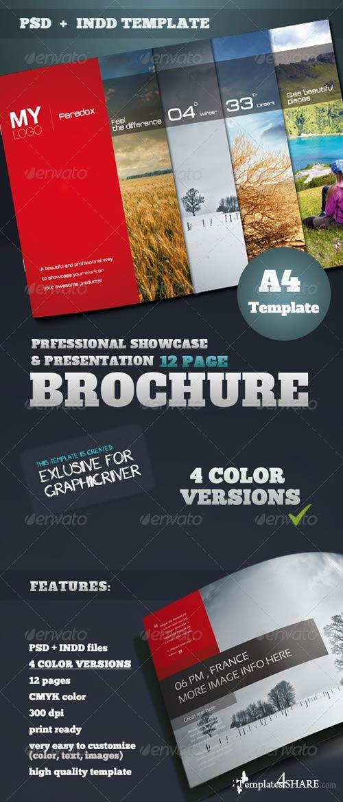 GraphicRiver Portfolio & Showcase Brochure