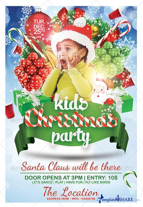 GraphicRiver Kids Christmas