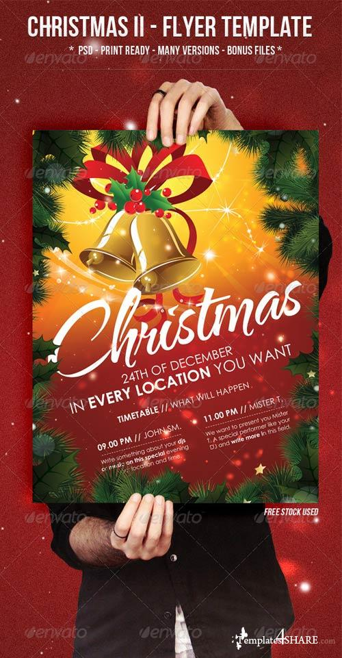 GraphicRiver Christmas II - Flyer Template