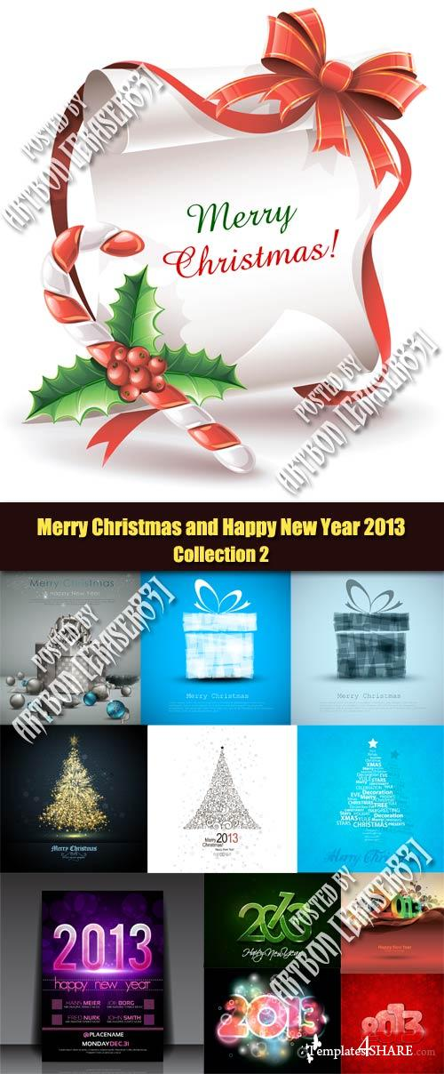 Merry Christmas and Happy New Year 2013 - Collection 2