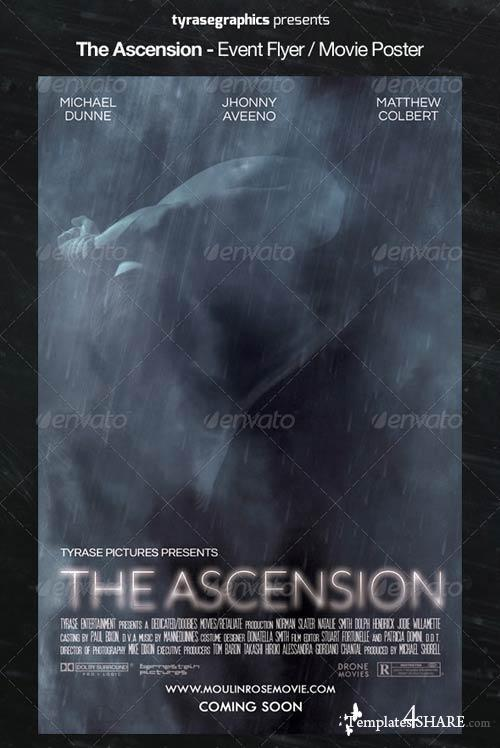 GraphicRiver The Ascension - Event Flyer / Movie Poster