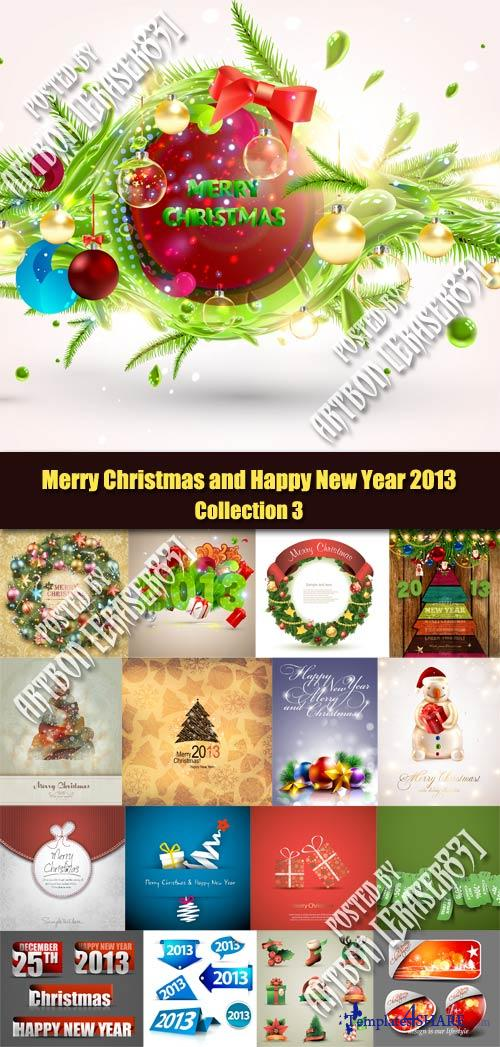 Merry Christmas and Happy New Year 2013 - Collection 3