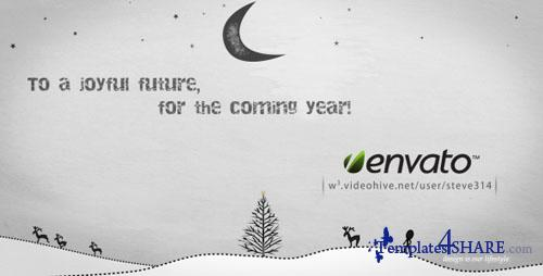 Inkman presents Xmas & New year's Greetings - After Effects Project (Videohive)