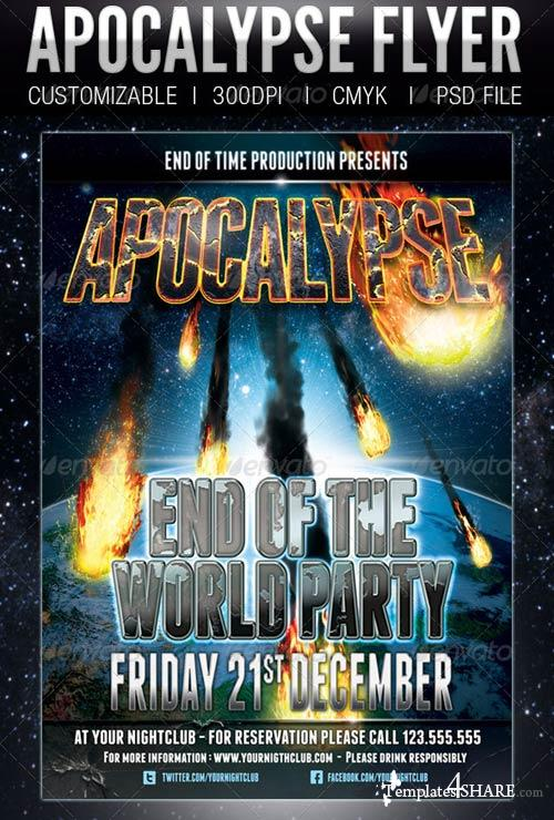 GraphicRiver Apocalypse Flyer