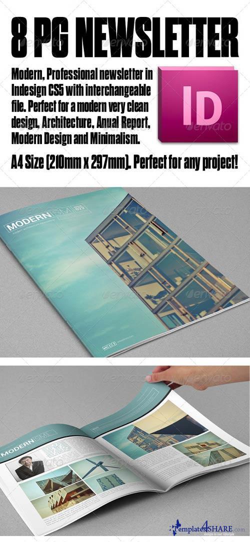 GraphicRiver Modern Architecture Newsletter