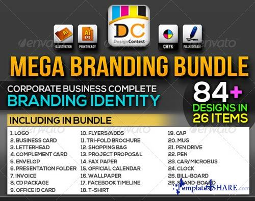 GraphicRiver NeoMan_Corporate Business ID Mega Branding Bundle