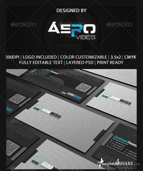 GraphicRiver Grey Business Card