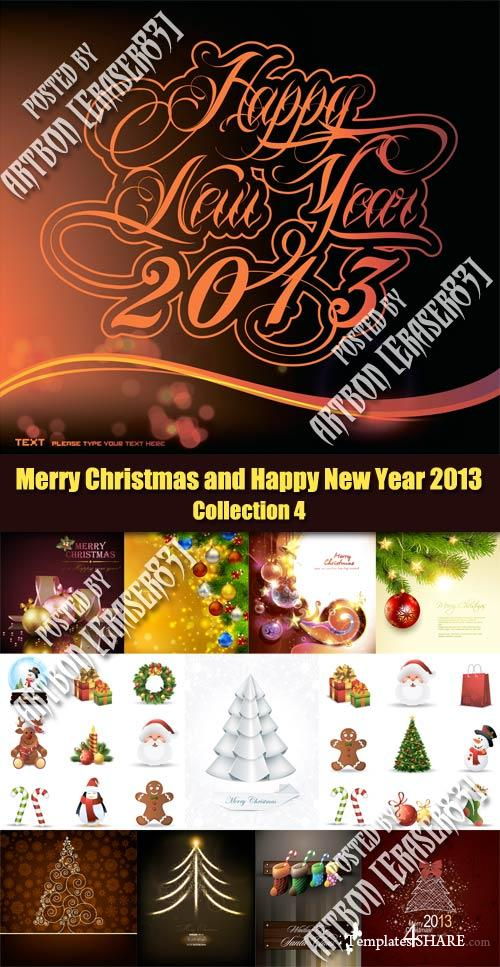 Merry Christmas and Happy New Year 2013 - Collection 4