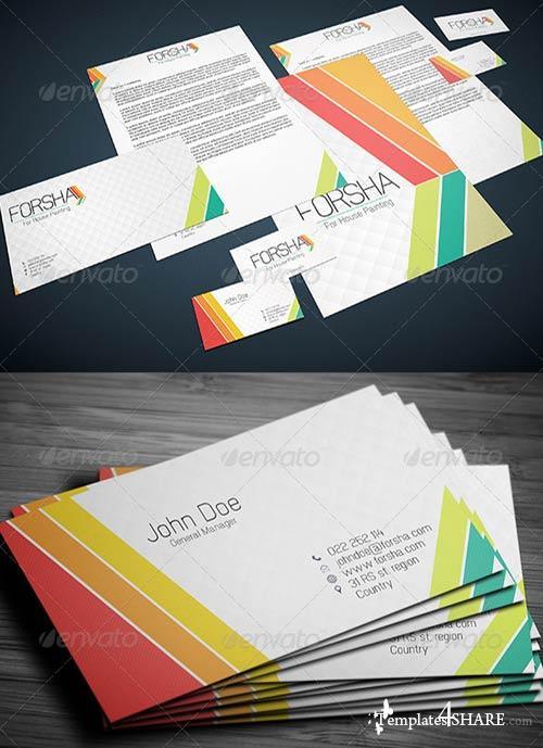 GraphicRiver Stationary & Identity: Forsha