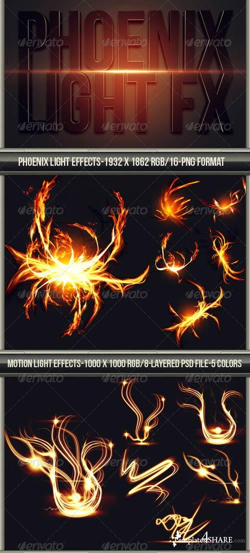 GraphicRiver Phoenix Motion Light FX