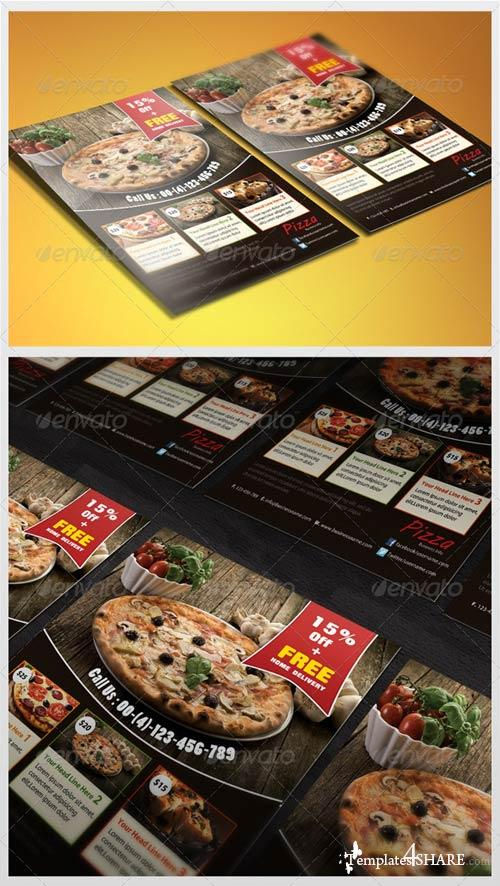 GraphicRiver Pizza Flyer