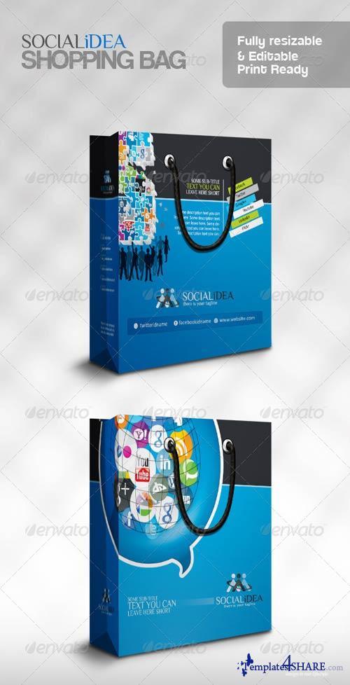 GraphicRiver Socialide Multipurpose Social Media Shopping Bag