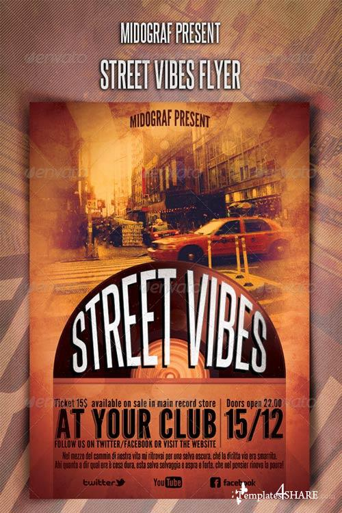 GraphicRiver Street Vibes Flyer