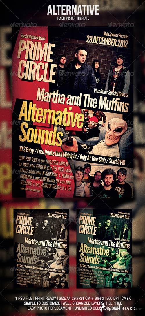 GraphicRiver Alternative Flyer / Poster 2