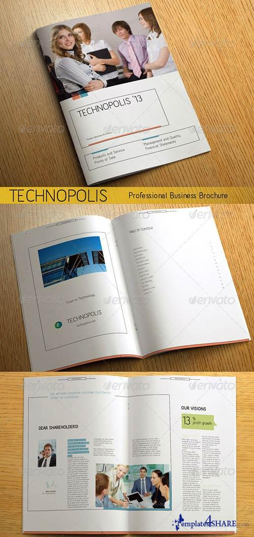 GraphicRiver TECHNOPOLIS - Modern Business Brochure