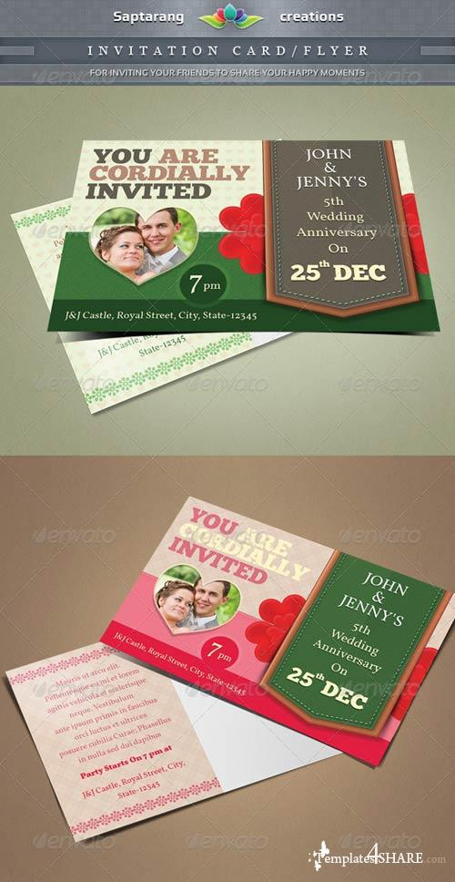 GraphicRiver Invitation Postcard/Flyer