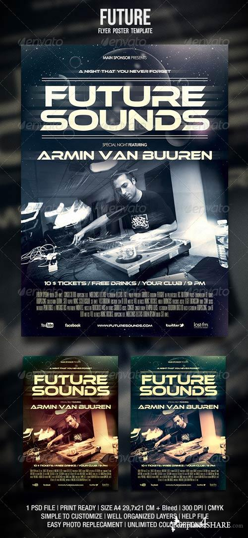 GraphicRiver Future Flyer / Poster