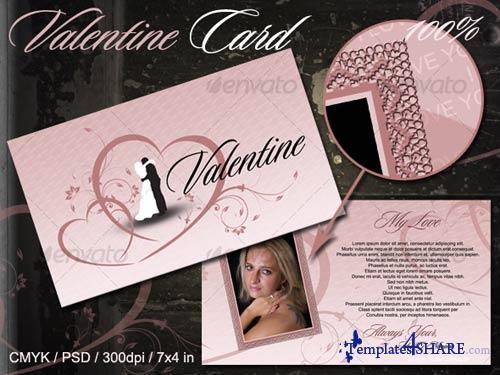 GraphicRiver Valentine Card