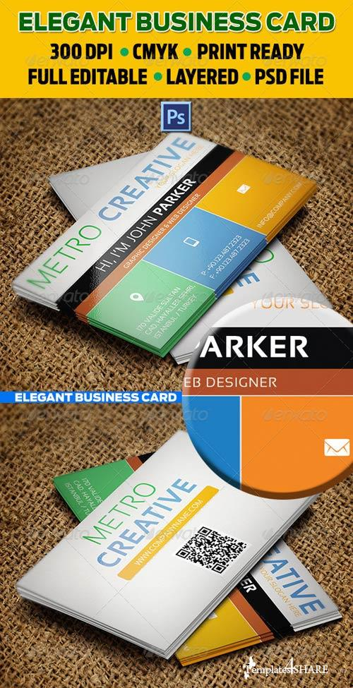 GraphicRiver Creative Business Card 32