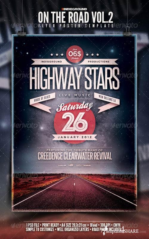 GraphicRiver On The Road Flyer/Poster Vol. 2
