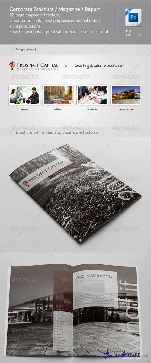 GraphicRiver Corporate Brochure / Magazine / Annual Report