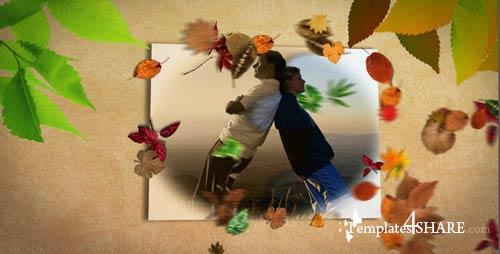 Slideshow Golden Autumn - After Effects Project (Videohive)