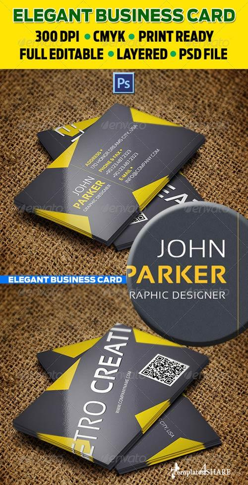 GraphicRiver Creative Business Cards 28