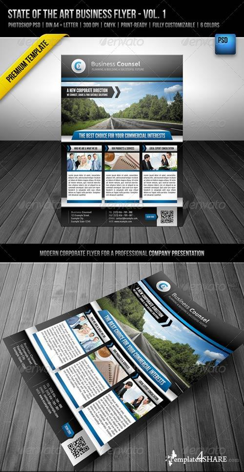 GraphicRiver State of the Art Business Flyer - Vol. 1