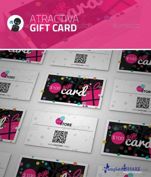 GraphicRiver Atractiva - Gift Card