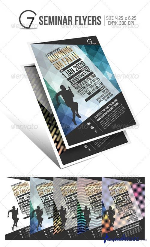 GraphicRiver Gstudio Seminar Flyers Template