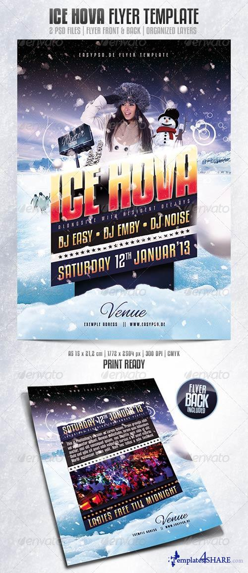 GraphicRiver Ice Hova Flyer Template
